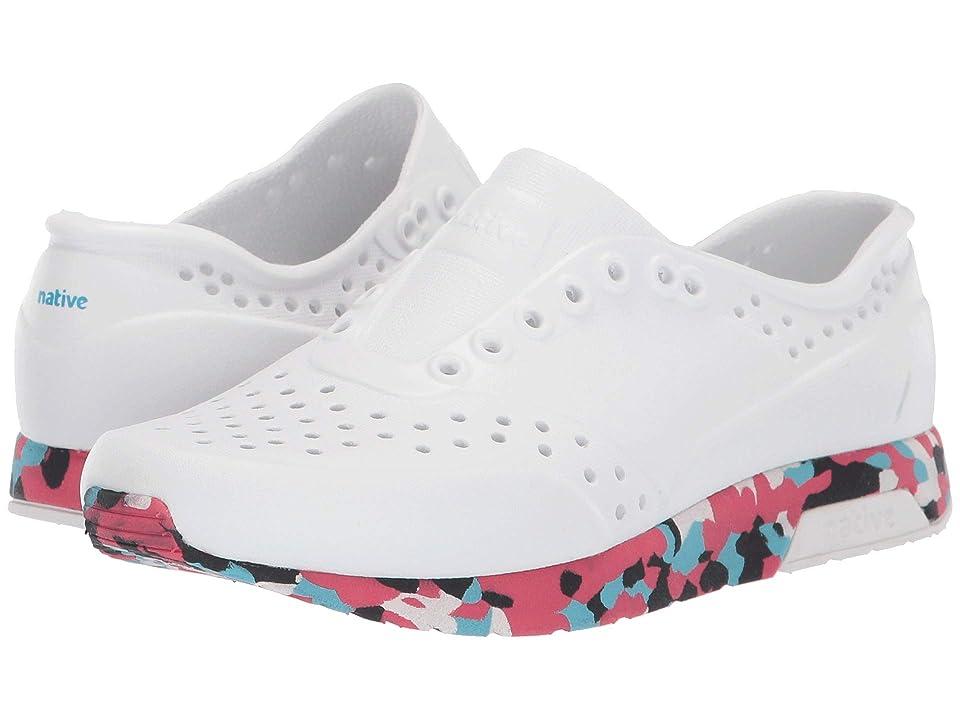 Native Kids Shoes Lennox (Little Kid) (Shell White/Konpeito/Shell White) Kids Shoes