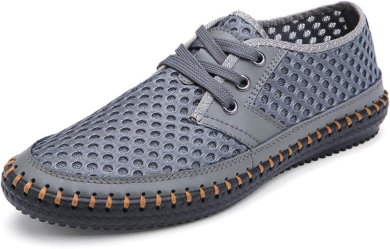 MOHEM Men's Poseidon Quick Drying Casual Aqua Water shoes Mesh Walking shoes