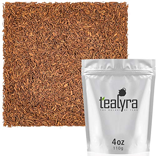 Tealyra - Pure Rooibos and Cocoa Blend - Red African Herbal Loos Leaf Tea - Antioxidants Rich - Relaxing - Caffeine Free - 112g (4-ounce)