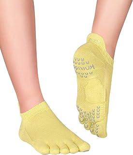 Knitido, Plus Sora Calcetines Antideslizantes de Yoga y Pilates