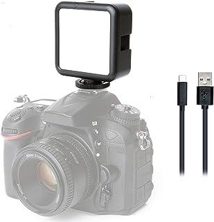 Movo LED XS - Luz de vídeo LED recargable portátil con dif