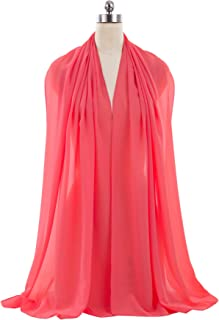 ANTS Women's Chiffon Bridal Evening Dresses Shawl Wraps