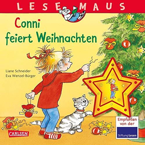 LESEMAUS 58: Conni feiert Weihnachten: Mit weihnachtlichem Baumschmuck-Anhänger (58)