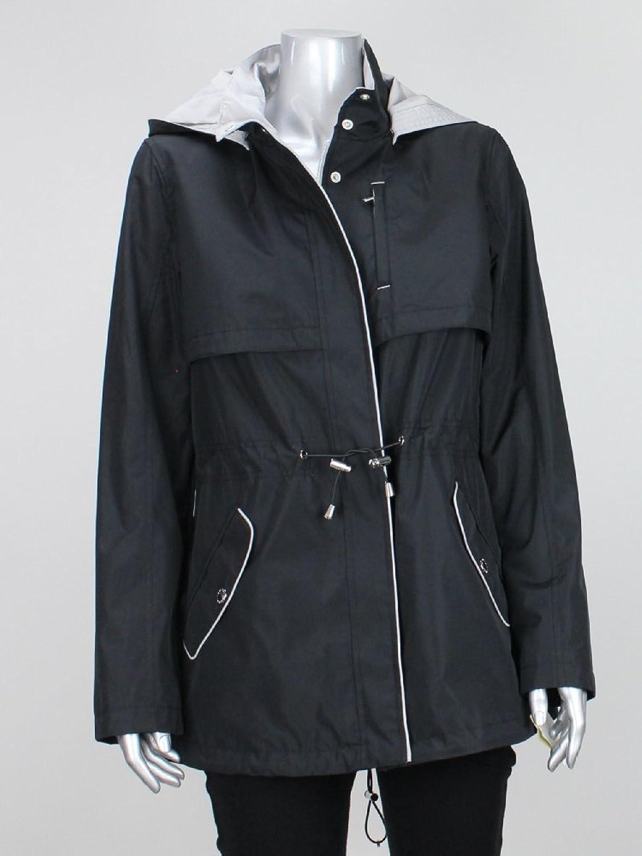 Nautica Black Rain Coat L