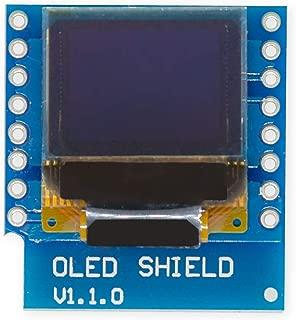 LaDicha Module daffichage OLED Jaune Jaune 0,96 Pouces 6Pin 12864 SPI pour Arduino