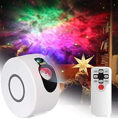 VULID Projecteur De Ciel Étoilé Nebula, Projecteur De Nuit Galaxy LED avec Télécommande Vitesse Luminosité Nébuleuse Lampe fo