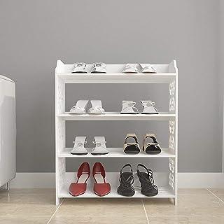 Support blanc pour bottes, chaussures, boîtes de rangement pour chaussures, étagère de rangement pour femmes, étagère soli...