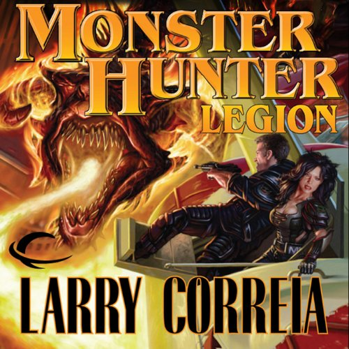 Monster Hunter Legion audiobook cover art