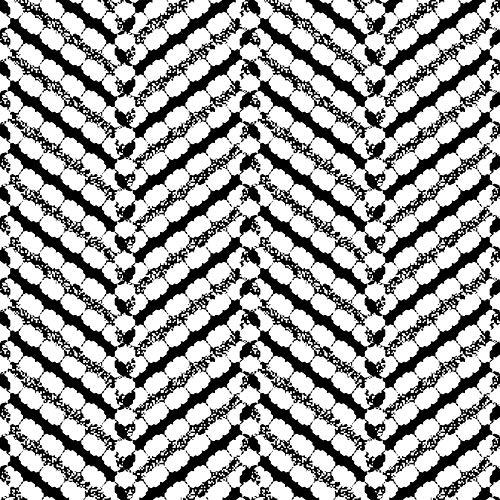 HaokHome 96045-1 - Papel pintado con diseño de espiga (17.7 x 118.7 pulgadas)
