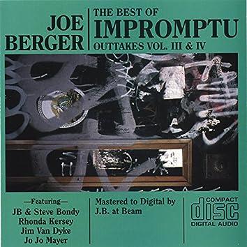 Impromptu Outtakes Vol 3-4