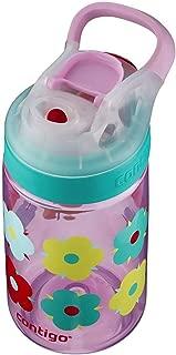 Contigo Auto Seal Gizmo Sip 康迪克 儿童水瓶 14盎司 花朵图案