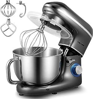 comprar comparacion CHeflee Batidora Amasadora Profesional,1500W Silencioso Robot de Cocina de 6 Velocidades con Recipiente de Acero Inoxidabl...