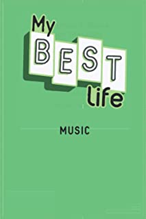 2021 Diary MY BEST LIFE: with MUSIC - Weekly and Monthly Planner - Diary 2021 week to view – Pocket diary 2021 To Do List ...