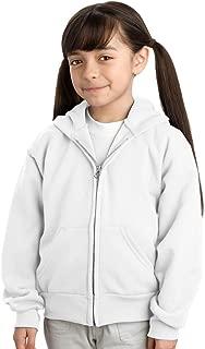 Port & Company Youth Full Zip Fleece Hooded Sweatshirt