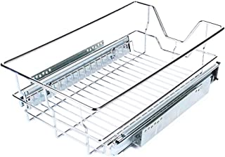 Cajón Deslizante para Alacena Gabinete de Cocina de 350mm Ancho Organizador Cesta Extraíble de Almacenamiento para Estant...