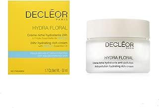Decleor Hydra Floral Anti- Pollution Hydrating Rich Cream with Neroli Essential Oil, 50ml