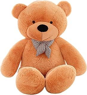 MorisMos Giant Cute Soft Toys Teddy Bear for Girlfriend Kids Teddy Bear (Light Brown, 55 Inch)