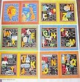 ABC Vereinigten Königreich Alphabet Book-Platte Nutex,