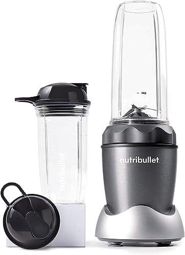 popular NutriBullet Pro 1000 Single Serve Blender Very Powerful 1000 popular Watts outlet online sale 7-Piece Set, Gray (Renewed) outlet sale