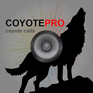 REAL Coyote Hunting Calls & Coyote Calls App for Predator Hunting - (ad free) BLUETOOTH COMPATIBLE