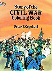 Story of Civil War Coloring Book