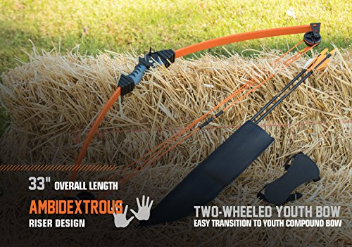 Product Image 1: Bear Archery Scout Youth Bow Set –Flo Green