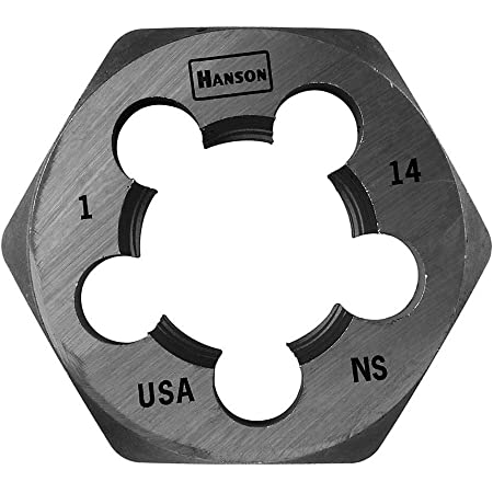 """Details about  /7//8/"""" 9 NC Carbon Steel Hex Pipe Theading Die USA 1-7//8/"""" Diameter"""