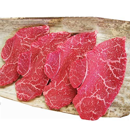 黒毛和牛 赤身 モモ ステーキ肉 4枚×200g ( ステーキ 赤身肉 ラムイチ 牛肉 和牛 ギフト )