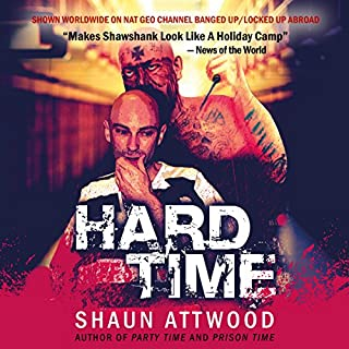 Hard Time                   By:                                                                                                                                 Shaun Attwood                               Narrated by:                                                                                                                                 Randal Schaffer                      Length: 12 hrs and 7 mins     118 ratings     Overall 4.6