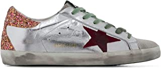 GOLDEN GOOSE Luxury Fashion Womens G35WS590P12 Silver Sneakers | Fall Winter 19