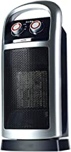 OOFAT Oficina Hogar Calentadores Eléctricos, Portátil Deshumidificadores Hogar, Funciones De Inclinación Ajustable De Seguridad Termostato De Protección contra Sobrecalentamiento