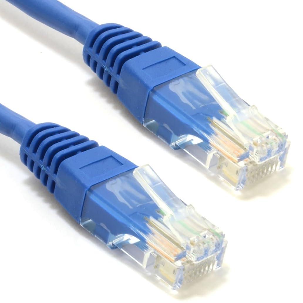 Kenable Blue Network Ethernet RJ45 Cat5E-CCA UTP PATCH 26AWG Cable Lead 10m (~33 feet) kkl5346573