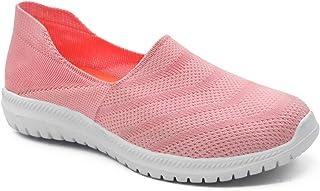 Peelu Women's Breathable Mesh Sports Walking Shoes