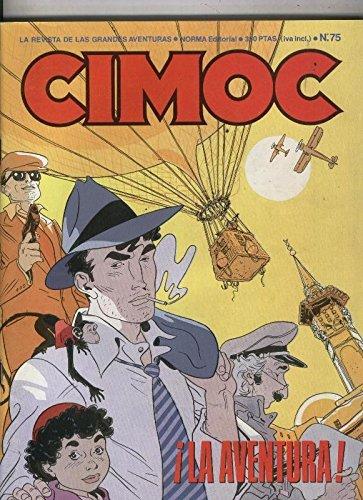 Cimoc revista numero 075: Morgan: el zombi (Antonio Segura y Jose Ortiz), conserva el catalogo editorial de 1987