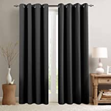 Blackout Curtain 95 inches Long for Living Room Room Darkrning Window Curtain Panel for Bedroom Triple Weave Drape Grommet Top,52