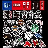 Mini-Logo-Aufkleber, wasserdicht, für Gepäck, Trolley, Koffer,...