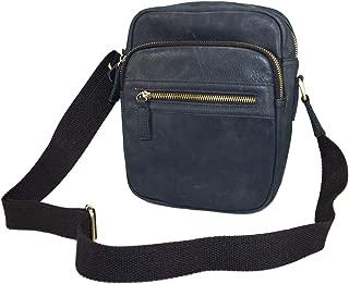 Classic Messenger Bag - Vintage Leather Shoulder Bag for All-Purpose Use