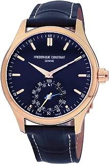 Frederique Constant Horological Smartwatch Quartz Movement Blue Dial Men's Watch FC-285NS5B4