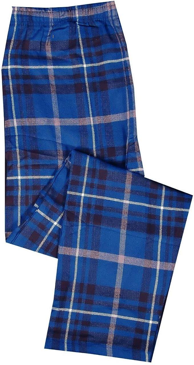 New York Avenue Mens 100/% Cotton Knit Pajama Lounge Pants