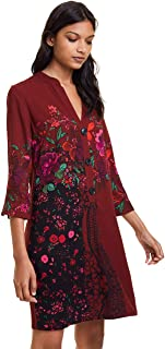 Desigual womens DRESS VALENTINA Dress