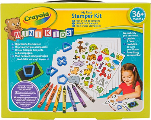 Crayola Mini Kids 81 – 1359-e-000 – Mon 1er Kit de Sello