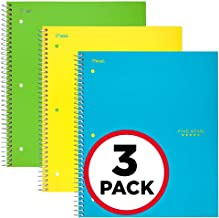 Five Star Spiral Notebooks, 1 Subject, Graph Ruled Paper, 100 Sheets, 11