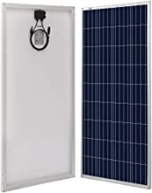 Richsolar 160 Watt 12V Solar Panel High Efficiency Polycrystalline Module Off Grid PV Power for Battery Charging, RV, Marine, Boat, Caravan, Trailer and Other Off Grid Applications