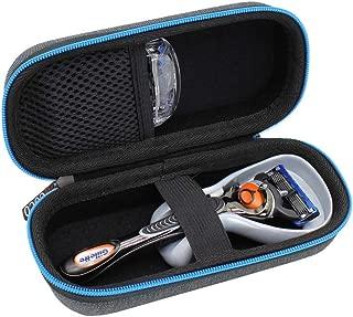 ESCOCO Hard Travel Case Bag for Gillette Fusion5 ProGlide Razor