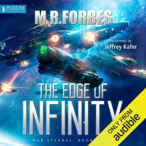 The Edge of Infinity audiobook cover art