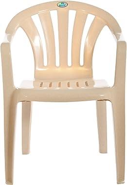 Nilkamal Arm Chair (Cream)