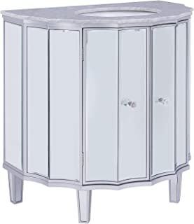 Best demilune cabinet with marble top Reviews