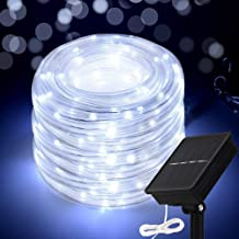 Honche LED Rope Light Outdoor String Waterproof Garden (Cool White 33FT 100L)