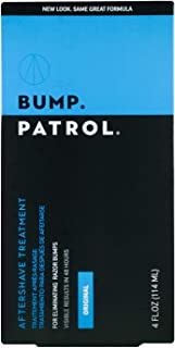 Bump Patrol Original Formula After Shave Bump Treatment Serum - Razor Bumps, Ingrown Hair Solution for Men and Women - 4 Ounces