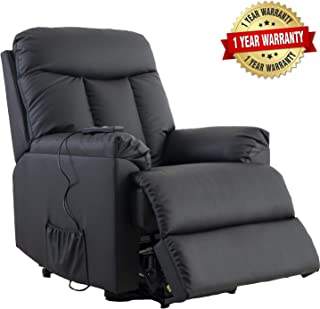 Lift Chairs for Elderly - Lift Chairs Recliners Lift Chairs Electric Recliner Sofa with Remote Control Soft PU Lounge